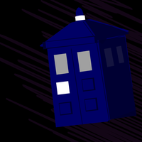 Tardis (Poorly made) by Undeaddemon4