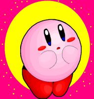 kirby by Nintendrawer