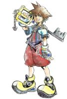 Sora - Kingdom hearts by Bloody-Mary20