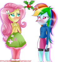 -Mistletoe- by lSweetPillow