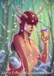 Oh-Deer! Holiday greetings 2015 by fantasio
