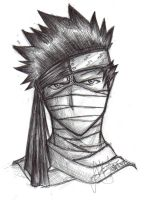 Zabuza - Lonely Eyes by Tiggstar
