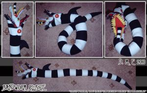 Sandworm Plushie by tavington