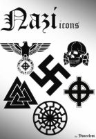 Nazi icons by Vonrelem