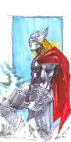 thor sketch, oct 08 by yosse