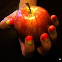 Painted nails by ShannonCPhotography