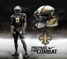 New Orleans Saints Home Alt by DrunkenMoonkey