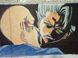 toshiro's angry face by amoonchan