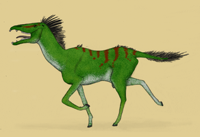 The horse is reconstructed by Dragonthunders