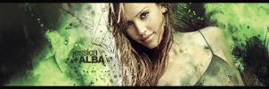 Jessica Alba signature by eaSe-one