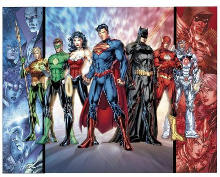 Full New Justice League by jcnkcks