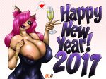 Fumie's 2017 New Year by GraphicBrat