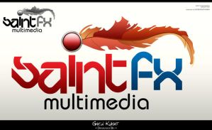 Saint FX Multimedia Logo 02 by GhenKnight