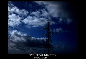 Nature vs Industry by StefanBalzan