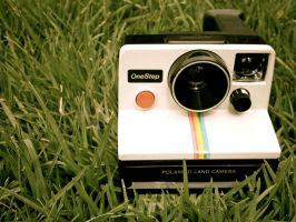 Polaroid One Step Land Camera by Diskool97