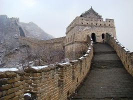 Great Wall at Mu Tian Yu-2 by SniperOfSiberia