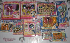 COMPLETED PGSM ROLE PLAY TOYS BY BANDAI by prinsesaian