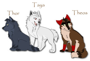 The Pups. by Terryburr