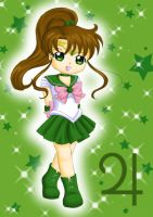 Chibi Sailor Jupiter by Dawnie-chan