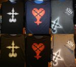 For Sale: KH themed shirts by invader-gir
