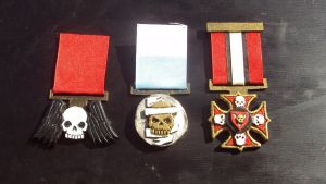 Imperial Guard Medals Close ups by DefenderHecht
