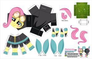 Fluttershy Dangerous Mission outfit (Joinys 006c) by ELJOEYDESIGNS