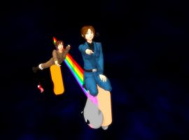 MMD-- HOW DO YOU CONTROL THIS THIIINNNGG by BlackHeartGoddess