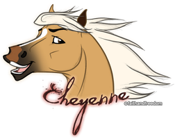Cheyenne Headshot by faithandfreedom