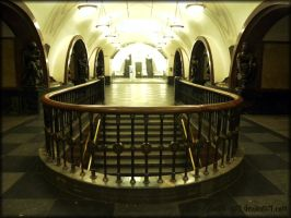 Art of Moscow Metro. 05. by VeIra-girl