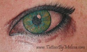 Realistic eye by Melissa-Capo