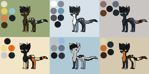 Adoptable Sheet 17 by Adrakables