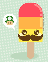 Cute Popsicle Luigi Version by SaraDJ