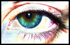 Rainbow In The Eye by Nathan-Ruby