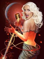 Christina Aguilera  Fire Girl by Mitia-Arcturus