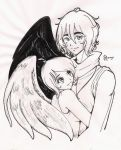 Commission- angels for PrisOAbitia by selene-bunny