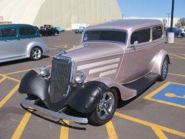 1934 Ford Tudor Sedan (Street Rod) by TheHunteroftheUndead