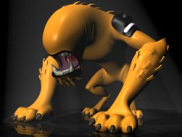 Ben 10 - WildMutt 3D by 3DSud