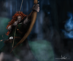 Male! Merida by gaaraxel-13