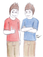 Edward and John by Ross-Sanger