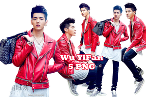 Wu YiFan PNG Pack {Our Street Style} by kamjong-kai