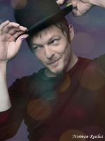 Norman Reedus by cintiadesigns