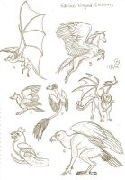 Fabulous Winged Creatures by LeeDassin