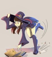 Little Witch Academia by DeathKnightCommander