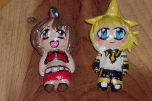Vocaloid Charms by foxdemon123