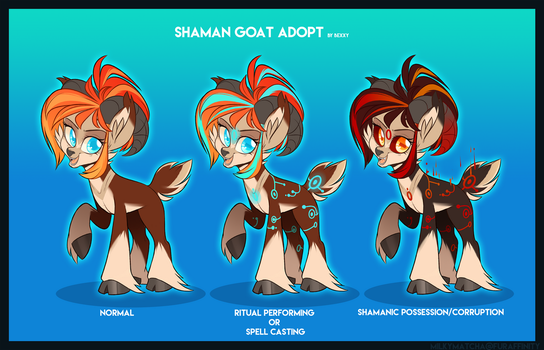 Caster the Shaman Goat! by zombie