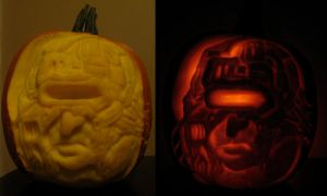 Weapon X Pumpkin by hever