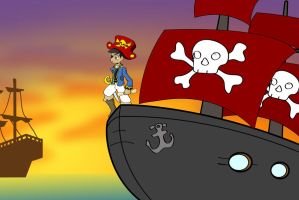A Pirate's Life For Me 3 by jlechuga