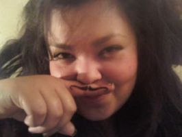 finger stache by Ooh-A-piece-of-Candy