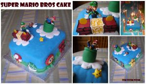Super Mario Bros Cake by littlemisskirby