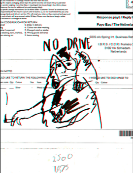 NO DRIVE by RadicalRoach
